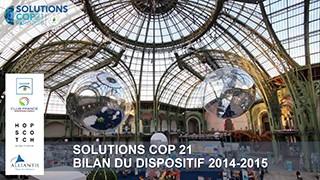 bilan Solution cop21 2014-2015